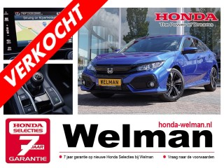 Civic 1.0 i-VTEC Elegance TURBO - 129 PK - CONNECT NAVIGATIE