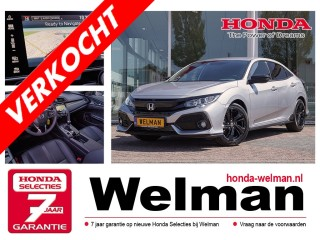 Civic 1.0i V-TEC Black Edition - TURBO - LEDER - NAVIGATIE