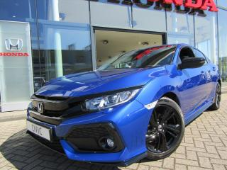 Civic ELEGANCE BLACK EDITION 1.0 130 PK MEGA KORTING ! LEDER, NAVI, CAMERA