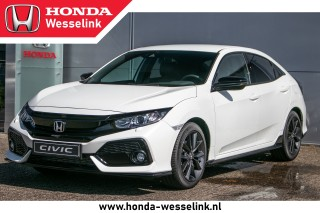 Civic 1.0T Elegance Black Edition - All-in prijs | Leder | navi | Honda Sensing | DIRE