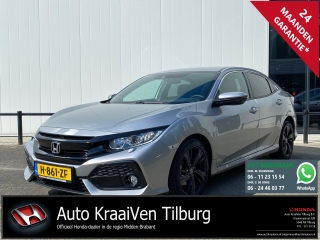 Civic 1.0i-VTEC 129pk CVT 5D Elegance | 36 MND BOVAG | NAVI | CAMERA | NETTO DEAL!