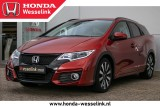 Honda Civic Tourer 1.8 Elegance - All-in prijs | Stoelverw.| Privacy glas