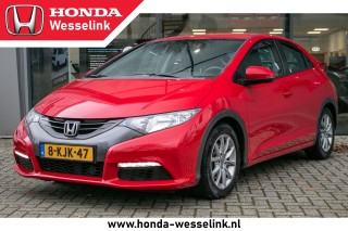 Civic 2.2 i-Dtec Comfort 5 Drs - All in rijklaarprijs | Dealer ond. | Trekhaak | Navig