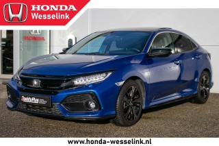 Civic 1.0T Premium | Leder | Pano.dak | Navi -All-in rijklaarprijs | BlackLine | All-s