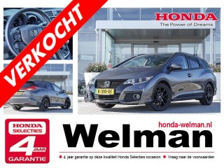 Civic Tourer 1.8i V-TEC ELEGANCE STYLE EDITION - NAVIGATIE - TREKHAAK