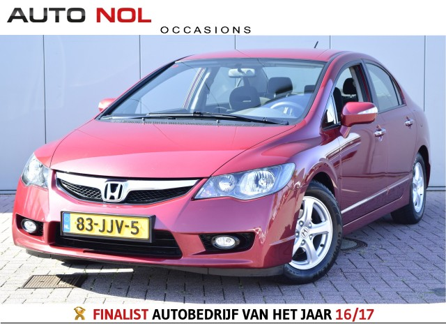 Honda Civic Hybrid 1 3 Cruise Pdc Lm Stoelverw Automaat Climate