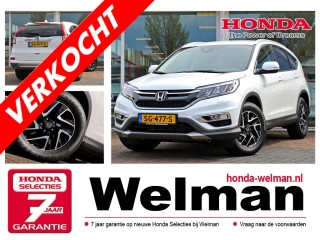 CR-V 1.6 i-DTEC ELEGANCE 160 PK - Leder - 4WD - Trekhaak - Advanced Driving Assist