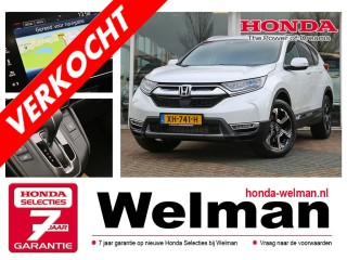 CR-V 1.5i V-TEC 193PK TURBO LIFESTYLE - AUTOMAAT - 4WD - LEDER - TREKHAAK .