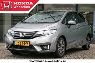 Jazz 1.3 Elegance Automaat - All in rijklaarprijs | Dealer ond. | 1e Eig. | Cruise-co