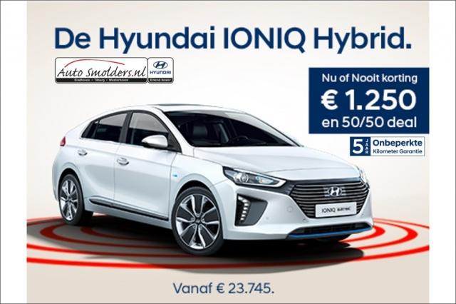 Hyundai Ioniq Hybrib Hev Comfort Automaat Voorraad Actie Nieuwe