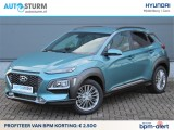 Hyundai Kona 1.0T Fashion | BPM ALERT:  ac2500 KORTING | Ceramic Blue | Lime Accent | Apple Car
