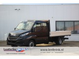 Iveco Daily 35C18 180 pk Automaat Pick up Dubbel Cabine 7 Zits Navi, Full LED, Trekhaak 3.50