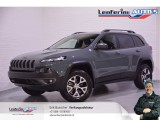 Jeep Cherokee 3.2 V6 Trailhawk 4WD Aut. Navi Leder Geel kenteken Cold Pack Tech Pack Leather P