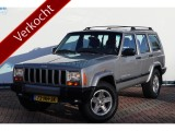 Jeep Cherokee 4.0I 184pk Automaat,4x4,60TH ANNIVERSARY Leder,Airco,Cruise,LPG!YOUNGTIMER!
