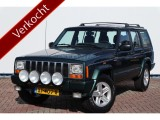 "Jeep Cherokee 4.0i 184pk 4X4 AUTOMAAT,Limited uitv., Leder,Airco,Cruise,Stoelverwarming,16""lmv"