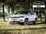 Jeep Compass 1.4T OpeningEdition+ 8.4 nav + Leder + Zwart dak
