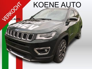 Uitblinker: Jeep Compass 4xe 190 Plug-in Hybrid Electric Limited Business AUTOMAAT NAVI CLIMATE LEDER