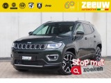 Jeep Compass 1.3 Turbo 150 PK DDCT Limited Leder Pan Dak Navi Xenon 19""