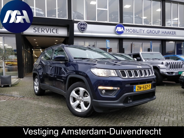Uitgelicht: Jeep Compass 140 PK Longitude Business Pack | Camera | NAV | Carplay