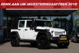 Jeep Wrangler 2.8 CRD 200PK | Black Edition | 4WD | Grijs Kent. | Leer | LED bar | Snorkel | L