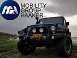 Jeep Wrangler 2.8 CRD Unlimited Geel Kenteken