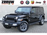 "Jeep Wrangler Unlimited Grijs kenteken 2.0 Turbo 272 PK 4x4 Sahara Leder Navi ""My2020"""