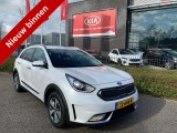 Kia Niro 1.6 GDi Hybrid DynamicLine NAVI + CAMERA - LED - HALF LEDER - WIT METALLIC!! ACT