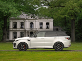 Land Rover Range Rover Sport SVR | 5.0 V8 SC 576pk | Pano | Head-up | Carbon int. | Trekhaak | Adapt.Cruise |