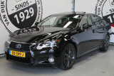 Lexus GS 300H LEDER SCHUIFDAK ADAPTIVE CRUISE HEAD UP DISPLAY MEMORY NAVIGATIE MARK LEVIN