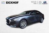 Mazda 3 2.0 SkyActiv-X Luxury - Wit Leer - Private Lease v.a.  ac 630,- per maand ALL-IN*