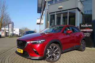 CX-3 2.0 SKYACTIV-G 120pk GT-M White Leather Pack Groot Voordeel!