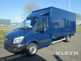 Mercedes-Benz Sprinter 319 CDI gesloten bak ac box