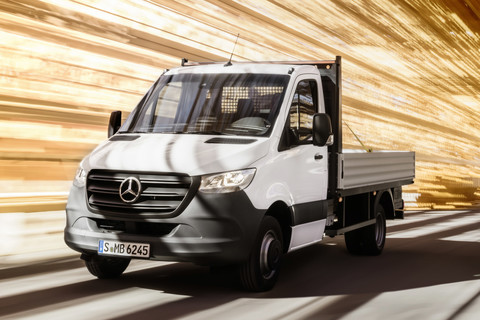 Mercedes-Benz Sprinter chassis cabine