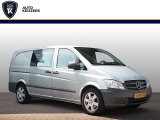 "Mercedes-Benz Vito 113 CDI 320 Lang DC Luxe Airco Cruise Control Dubbel Cabine Trekhaak Audio 17""LM"
