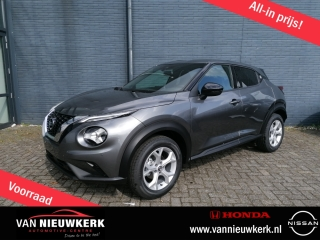 Juke New 1.0L 114 PK Automaat N-Connecta | Park & Ride Pack | Navigatie | LED Verlich