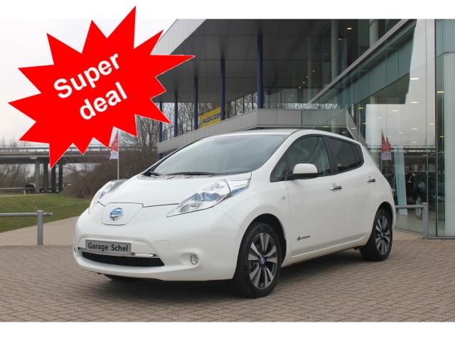 Nissan Garage Tweedehands : Nissan leaf tekna electric 24 kwh prijs exclusief btw tweedehands
