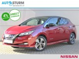 Nissan Leaf e+ Tekna 62 kWh *IN 2019 RIJDEN!* | Two-Tone Lak | Cruise Control Adapt. | Leder