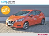 Nissan Micra 1.0L Acenta | Apple CarPlay | Cruise Control | Airco | Bluetooth Tel. | 16'' Vel