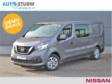 Nissan NV300 1.6 dCi 125 L2H1 Optima Luxe DoubleCab CREW | Navigatie | Camera | 5-Persoons |