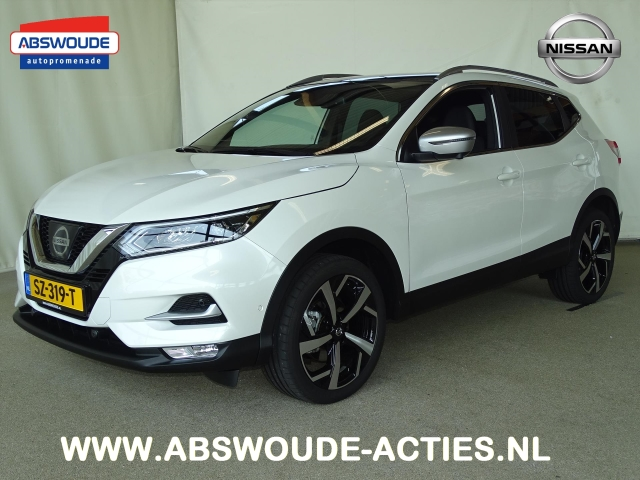 Nissan Garage Tweedehands : Nissan qashqai 1.2 dig t tekna plus **demo korting** tweedehands