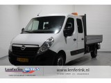 Opel Movano 2.3 CDTI 126pk Dubbel Cabine 7 pers. pick up Airco, Navi, Cruise
