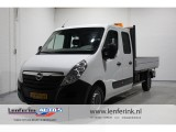 Opel Movano 2.3 CDTI 126pk Dubbel cabine 7 pers pick up Airco, Navi 2500kg trekhaak