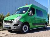 Renault Master 2.3 dci dubbele cabine,