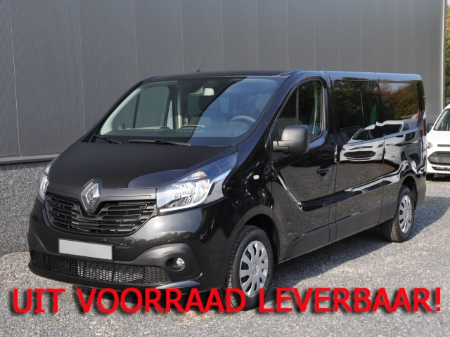 renault trafic l2h1 t29 dci 120 dc dubbele cabine luxe pack r link s s voorraad nieuwe auto. Black Bedroom Furniture Sets. Home Design Ideas