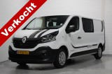 Renault Trafic 1.6 dCi 145pk L2H1 Dubbel Cabine Airco, Cruise control, Camera, PDC v.a. 269,- p