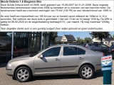 Skoda Octavia 1.6 Elegance Attractive Business + trekhaak **ONZE SLUITINGSTIJD is 21-09 om 12u