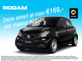 Smart forfour ** AKTIE  ac 169,- ALL-IN PER MAAND **