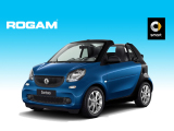 Smart fortwo cabrio 52kW Automaat / Pure PLUS