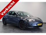 Tesla Model 3 Performance EX BTW 20`LM Donker grijs.
