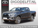 Toyota Hilux Dubbele Cabine 2.4 D-4D 4WD Executive excl. BTW | Automaat |  5-persoons grijs k